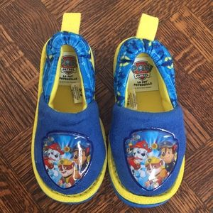 Paw Patrol Blue Baby Shoes Size 5-6